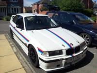 Use of vinyl in the M3 colours
